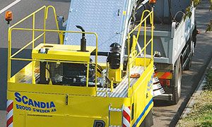 Diesel driver for sweeper machines