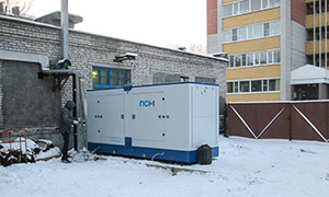 6 diesel gensets for boilers in Vologda