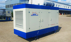 Diesel genset for Internet Service provider from Kyrgyzstan