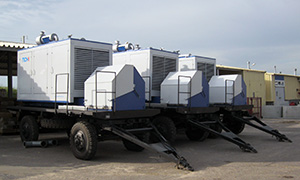 6 diesel gensets for «Rusagro»