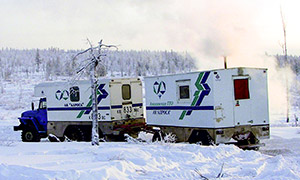 6 diesel gensets for Amakinskaya Exploration Expedition