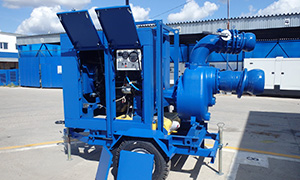 Diesel pumpset «Strong» series for center of civil defense of the Kamchatka Krai
