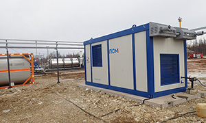 2 diesel gensets for West-Ayansky oil and gas field