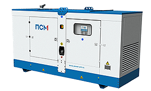 Sound-proof enclosure for diesel gensets