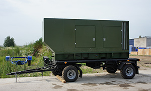 7 gensets for army of Kazakhstan