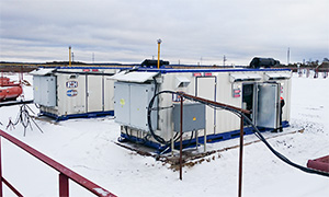 2 diesel gensets for the Yuzhno-Lyaminsky oil and gas field