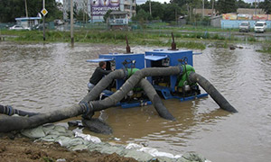 Diesel pumping sets for dewatering