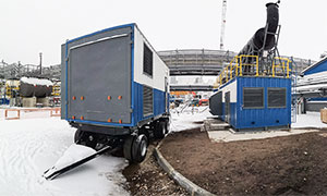 Diesel power station 2,5 MW for company «NOVATEK»