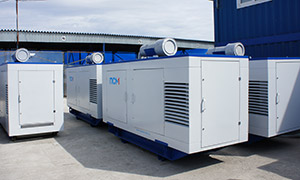 5 diesel gensets for Moscow Southern Administrative Okrug