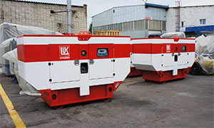 40 diesel gensets for «Lukoil» petrol stations in different regions of Russia