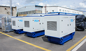 3 diesel gensets for for the construction of the Crimean bridge
