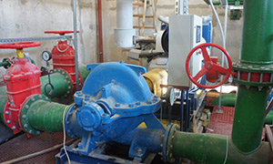 Diesel pump sets for firefighting