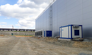 Diesel power station for warehouse complex PNK in Sverdlov region