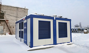 Diesel gensets complex for Rostelecom