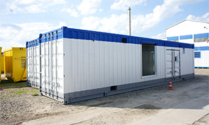 Energy complex  6 MW for the design office in Tula