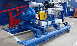 Diesel pumpsets for gold mines in Ethiopia