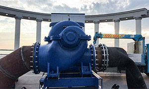 3 diesel pumpsets for construction company in Khabarovsk