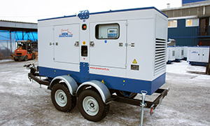 Diesel genset for Pavlodar pipeline valves plant