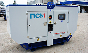 2 diesel gensets for company «Roads of Pskov»