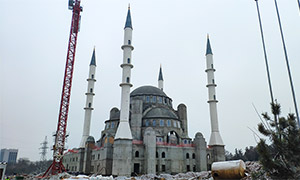 Diesel genset for the Cathedral Mosque in Simferopol