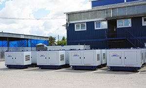 22 gensets for Rosneft