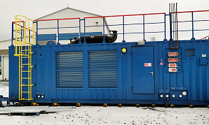 Gas-diesel power complexes with a total capacity of 4 MW for the Yuzhno-Russkoye field