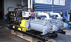 2 diesel pumpsets for construction company «BSGroup»